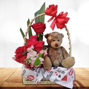 Cesta Amor de Urso