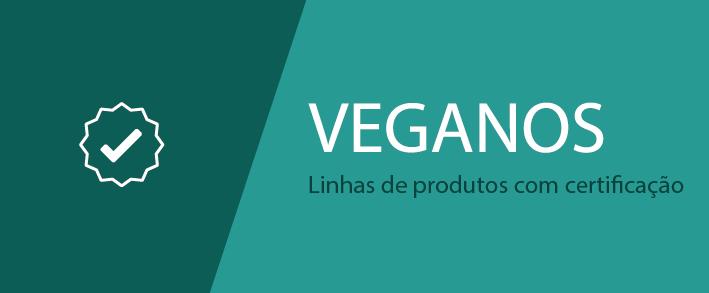 Veganos. Linha de produtos com certificação