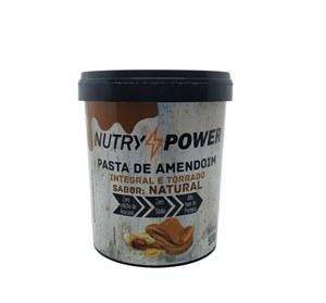 Pasta de Amendoim Natural 500g - Nutry Power