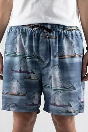 Shorts Elastico Casual Moliceiros