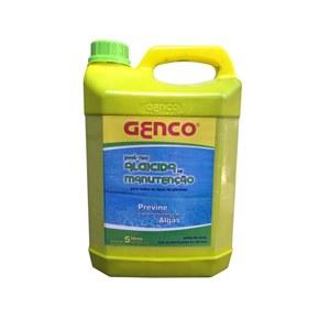 Genco Algicida Manutenção Previne Algas 5L