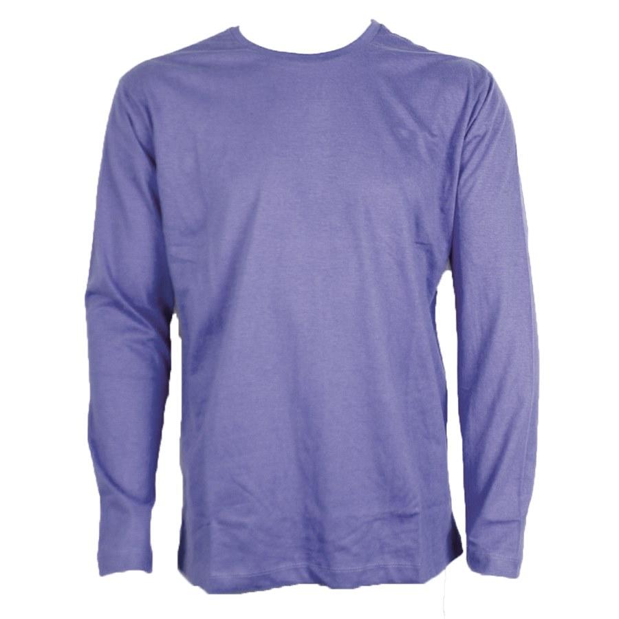 a1a432f06d0d1 Camiseta Malha PV Azul Marinho Manga Longa - Tamanhos de PP ao XG ...