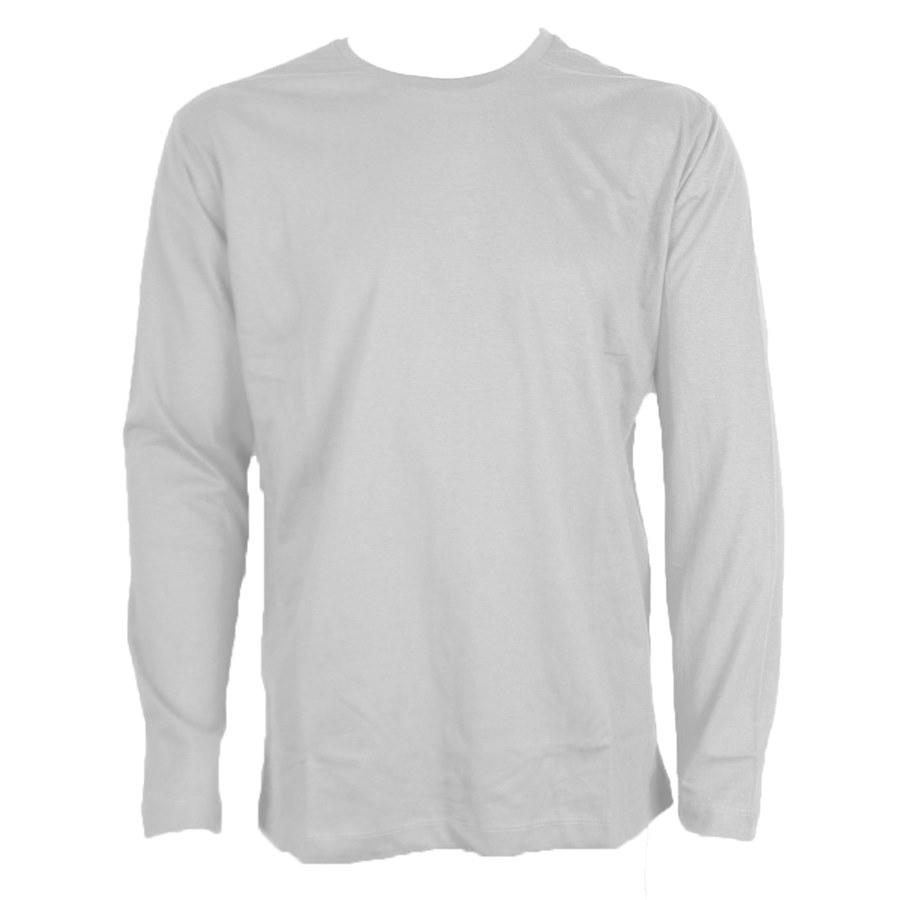 f5b8509f09 Camiseta Malha PV Cinza Manga Longa - Tamanhos de PP ao XG - DIVISEG ...
