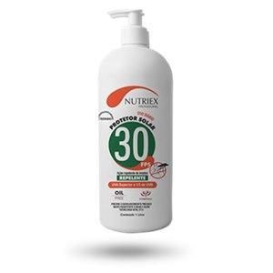 Creme Nutriex Protetor FPS 30 C/Repelente Bombona 1 Litro