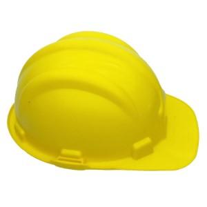 Capacete Amarelo Nova Norma Plastcor Com Selo Inmetro - CA: 31469