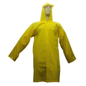 Capa de Chuva PVC Italiana Amarela - CA: 12938 - Tamanho de P ao XG