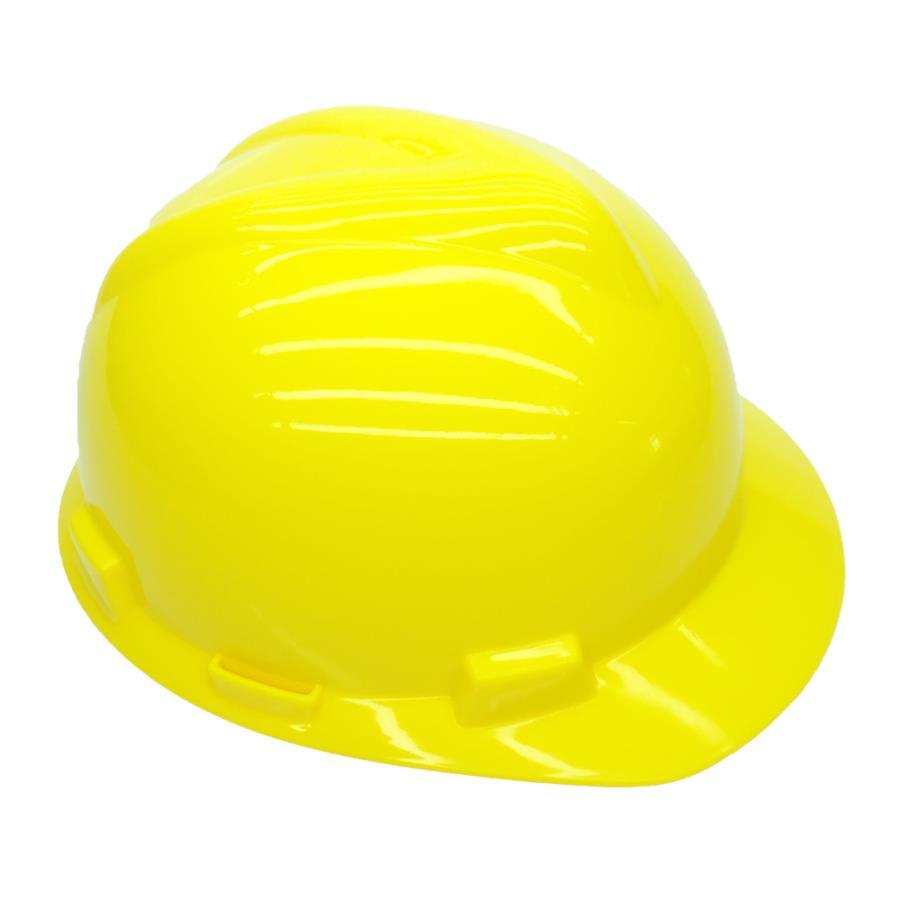 Capacete MSA Amarelo Com Jugular - Referência 297457 C.A 498 ... 6287a3d0ba