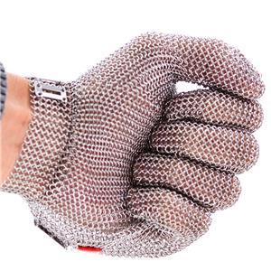 Luva de Segurança Malha de Aço - Anticorte - CA 13764 - Tamanho do PP ao XG