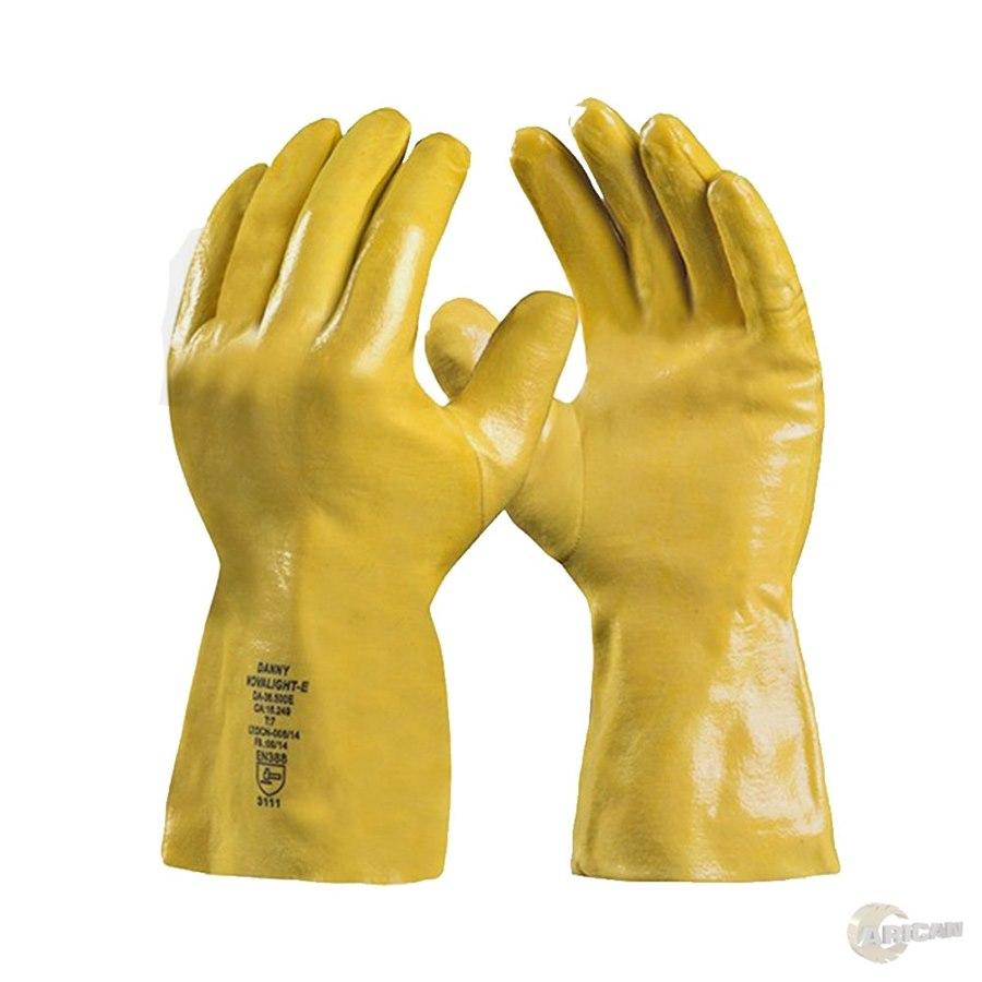 59b1eca6b2eb5 Luva de Proteção Danny Novalight Total Latex Nitrilico Amarela CA 16249