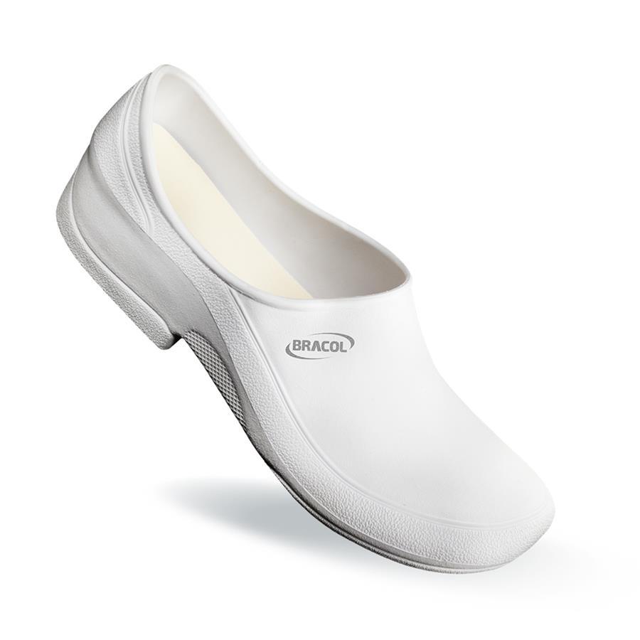 df29ff0b815 ... Sapato de Segurança Flip Bracol - Branco - Impermeável - Antiderrapante  - CA 38.590 - Tamanho ...