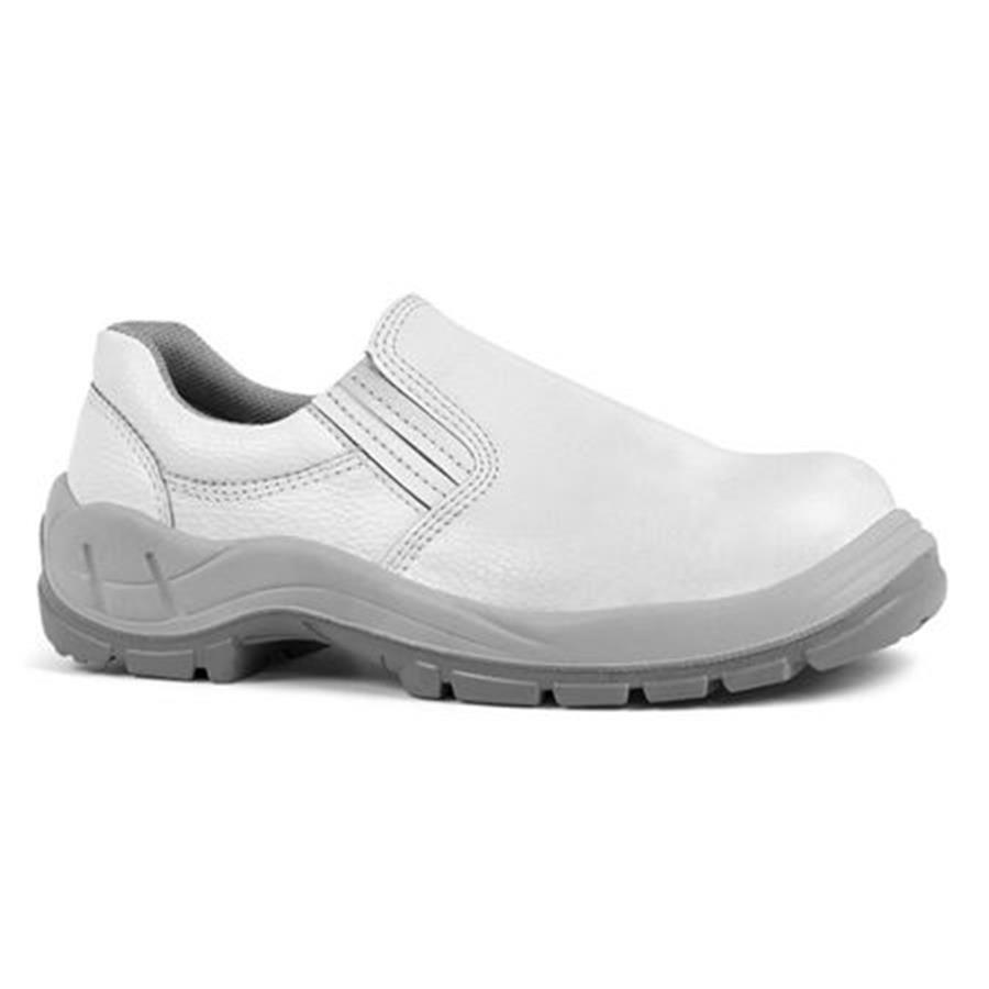 Sapato de Segurança Elástico Bracol BSE - Branco - CA 25689 - Com Bico -  Tamanho ... 86356ad453