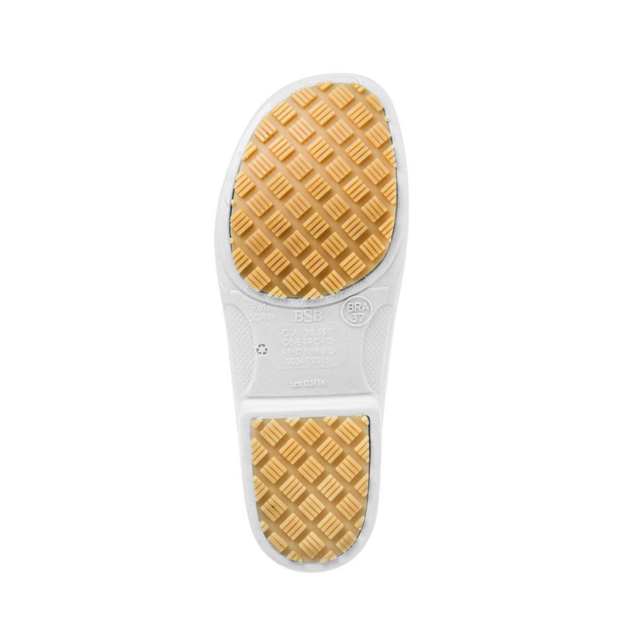 5eda300f176 ... Sapato de Segurança Flip Bracol - Branco - Impermeável - Antiderrapante  - CA 38.590 - Tamanho