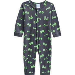 Macacão Pijama Monster Infantil Masculino 0484