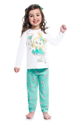 Pijama Fada Infantil Feminino 0001