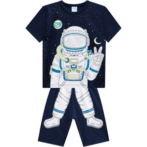 Pijama Astronauta Infantil Masculino 6826