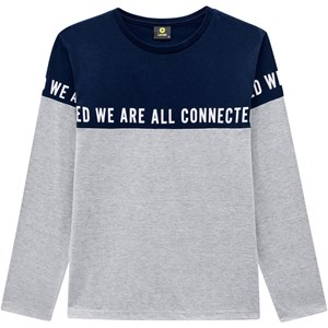 CAMISETA WE ARE ALL CONNECTED MASCULINA 80907 0020