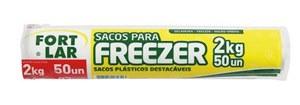 SACOS PARA FREEZER 2KG C/50PC 1382 FORTPACK