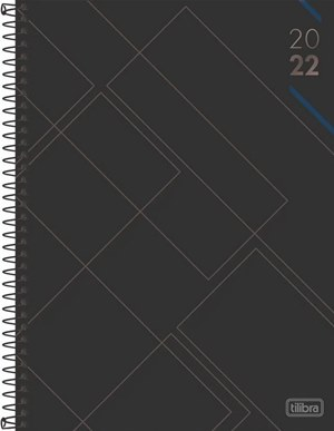 AGENDA 2022 ESPIRAL MASCULINA SPOT M9 TILIBRA