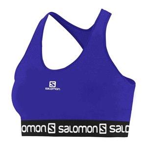 TOP SALOMON IMPACT LOGO BRA F AZUL