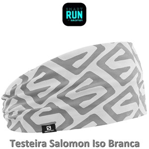 TESTEIRA (HEADBAND) SALOMON ISO BRANCA
