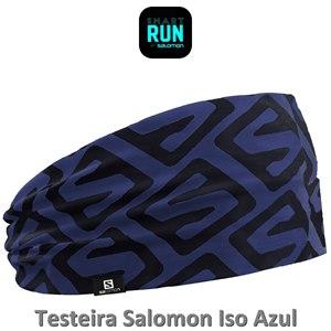 TESTEIRA (HEADBAND) SALOMON ISO AZUL
