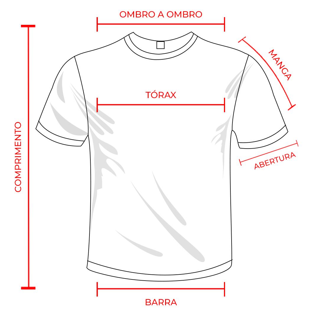 Formato e tamanho da camisa