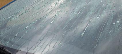 glaco big evitar usar limpador durante 3 horas