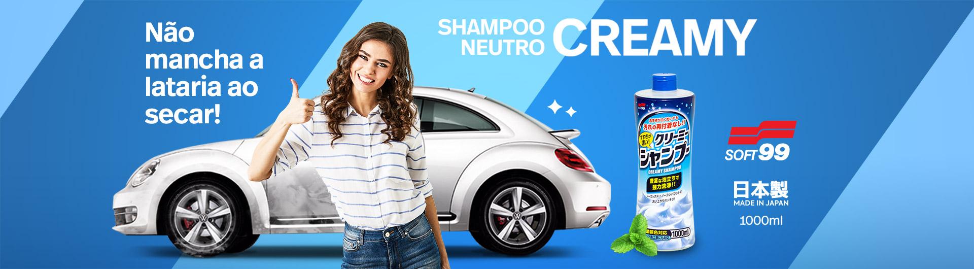 Shampoo Neutro Creamy para carros Soft99