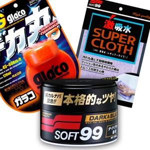 KIT CERA DARK & BLACK BIG GLACO E SUPER CLOTH