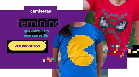 Seção de Camisetas - Feminino