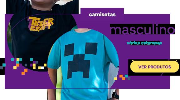 Seção de Camisetas - Masculino