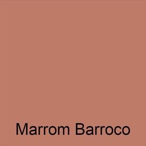 Tinta Economica Marrom Barroco 18L Pintcolor