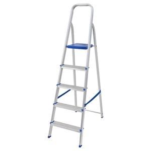 Escada Mor 5 Degraus Aluminio