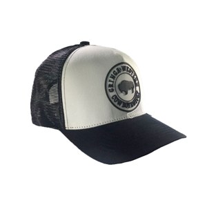 BONÉ TRUCKER ABA CURVA GRINGA´S BACK BLACK 250bac9fb73