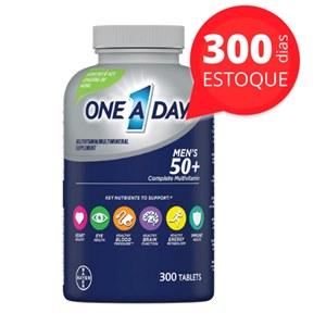 One a Day Bayer | acima de 50 anos para homens | Estoque para 300 dias