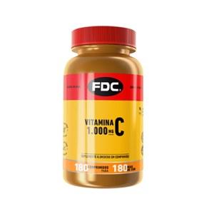 Vitamina C 1000MG Film Coated 180 comprimidos     FDC    Vitaminas Express