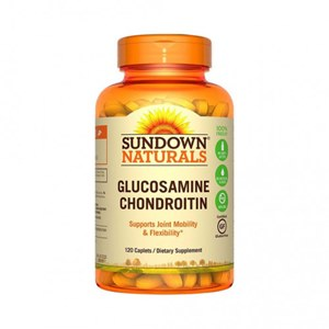 Glucosamina Condroitina Sundown Naturals - 120 cápsulas