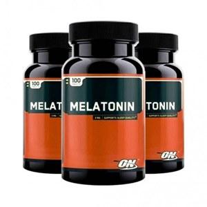 Melatonina 3mg Optimum Nutrition (3 Frascos)