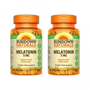 Melatonina 5mg Sundown (2 Frascos)