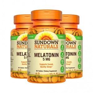 Melatonina 5mg Sundown (3 Frascos)