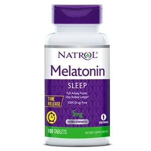 Melatonina 5mg Natrol Liberação Prolongada - 100 Comprimidos