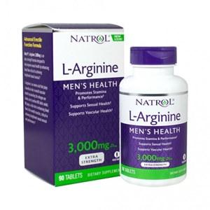 L-Arginina, 3000mg, Natrol - 90 Comprimidos