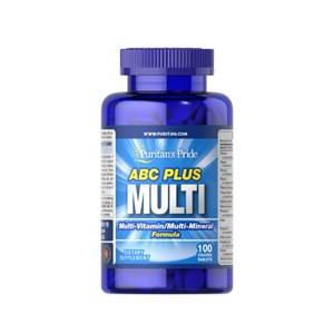 ABC Plus Multivitamínico e Multi-Mineral Fórmula 100 tablets Puritan's Pride