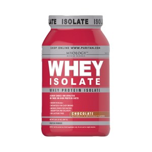 Whey Protein - Isolado Importado Puritan's Pride 907g - Chocolate