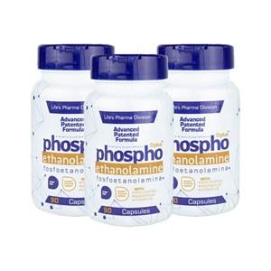 3 Frascos de Fosfoetanolamina para você cuidar de sua saúde. Fórmula Original