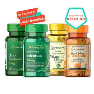 Super combo Imunidade, aqui você tem muitos nutrientes em apenas uma compra