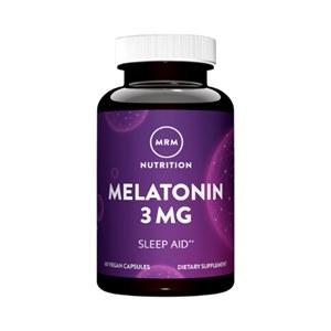 Melatonina 3mg MRM Nutrition 60 cápsulas veganas