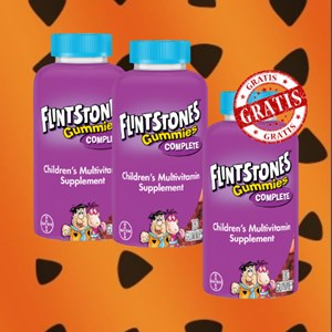 Combo LEVE 3 e pague 2 Multivitaminico Flintstones | 180 Gomas mastigáveis